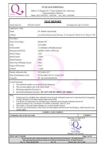 Qualis Certificate